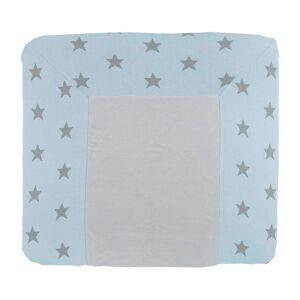 Baby's Only Aankleedkussenhoes Star baby blauw/grijs - 75x85