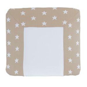 Baby's Only Aankleedkussenhoes Star beige/wit - 75x85