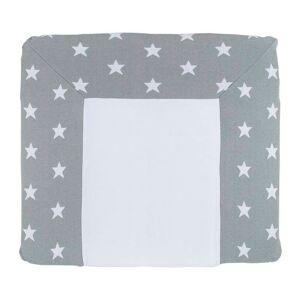Baby's Only Aankleedkussenhoes Star grijs/wit - 75x85