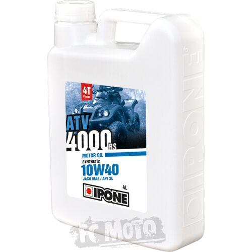 IPONE ATV 4000 RS 10W-40 Motor-/Tandwielolie 4 Liter -