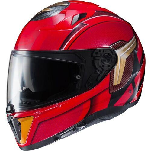 HJC i70 Flash DC Comics Helm - Zwart Rood
