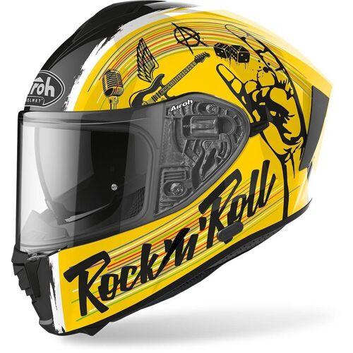 Airoh Spark Rock'N'Roll Helm - Geel