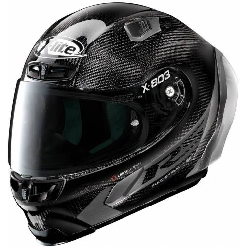 X-Lite X-803 RS Ultra Carbon Hot Lap Helm - Zwart