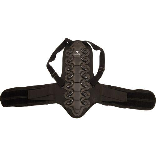 Modeka Rugbeschermer - Zwart