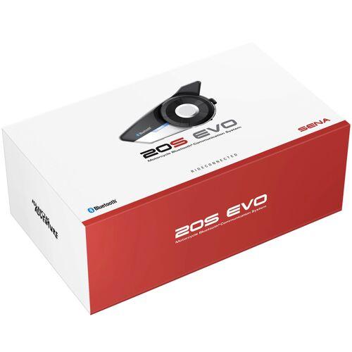 Sena 20S Evo 40mm Bluetooth Communication System Bluetooth communicatiesysteem - Zwart