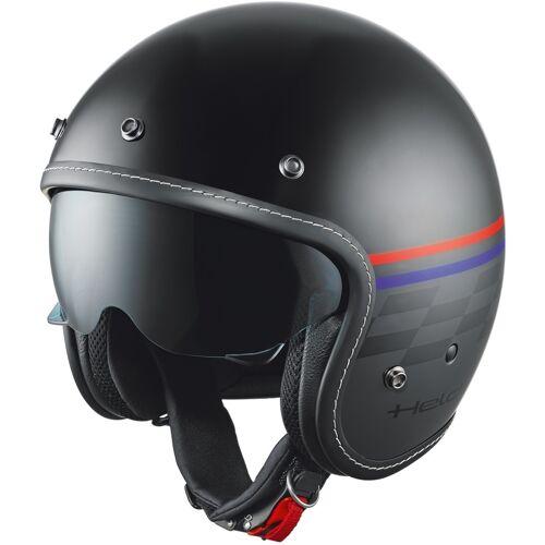 Held Mason Jet helm ontwerp vlag - Zwart