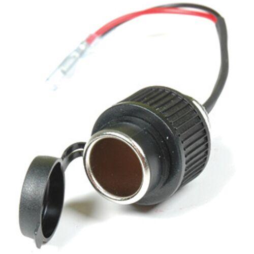 Booster 12V Sigarettenaansteker socket - Zwart