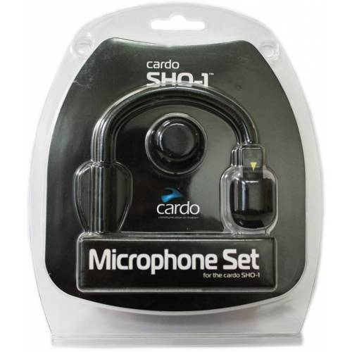 Cardo SHO-1 / PT Microfoonset - Zwart