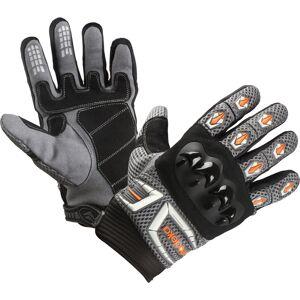 Modeka MX Top Handschoenen - Grijs Oranje