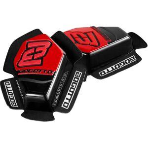 Bogotto Sport Knie Slider - Zwart Rood
