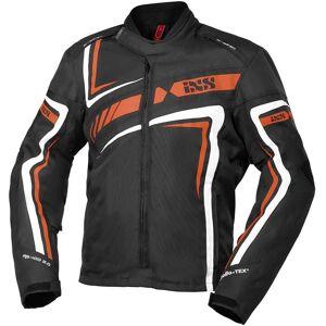 IXS Sport RS-400-ST 2.0 Motorfiets textiel jas - Zwart Oranje