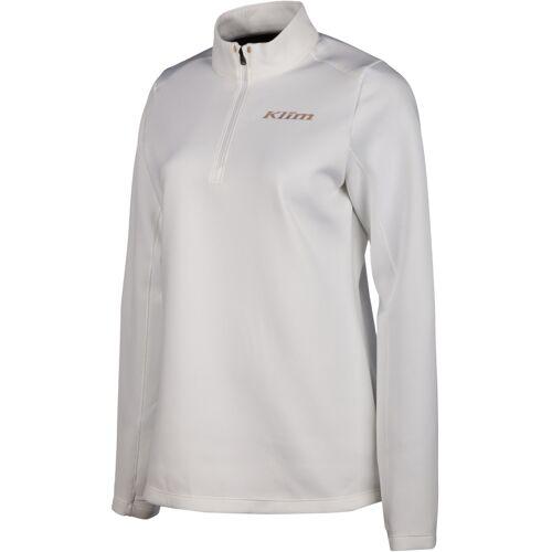 Klim Equinox 1/4 Dames Functioneel Shirt - Wit