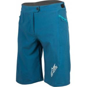 Alpinestars Stella Pathfinder Ladies Bicycle Shorts Dames Fiets Shorts - Blauw