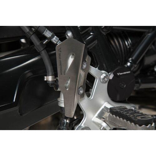 SW-Motech Remcilinder bewaker - Zilver. BMW R nineT (14-), Scram/ Pure/ GS (16-). -