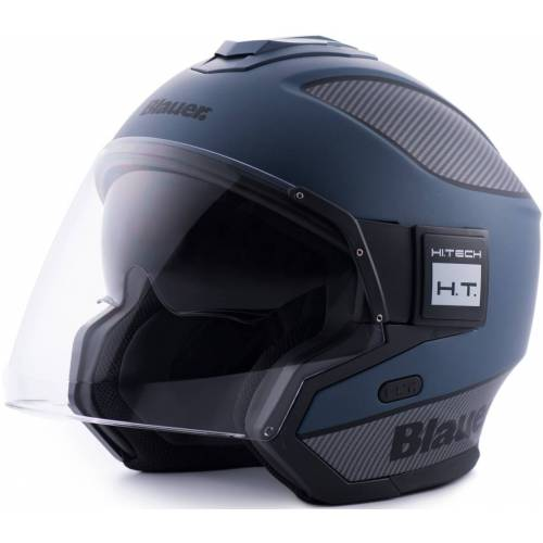 Blauer Solo Straal helm - Blauw