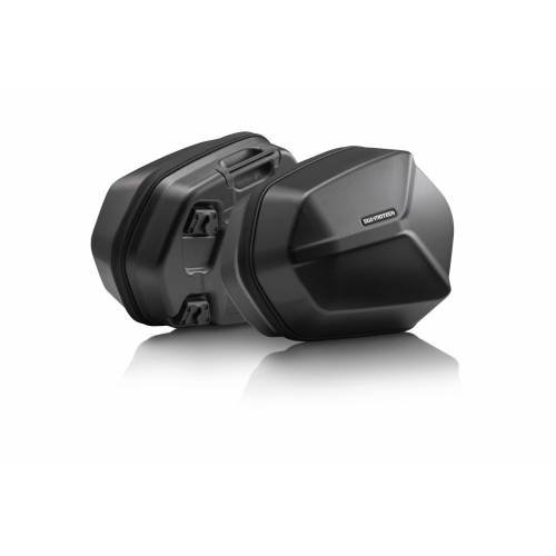 SW-Motech AERO ABS side case systeem - 2x25 l. Versys 650 (07-14). -