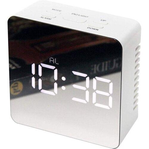 JAP AC1620 - Digitale spiegel wekker - Alarmklok