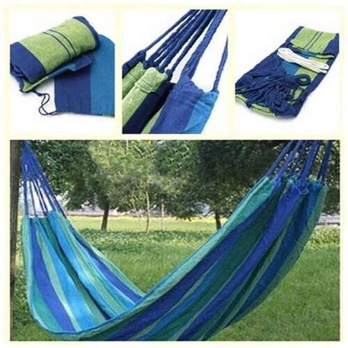 Benson hangmat - Blauw/Groen