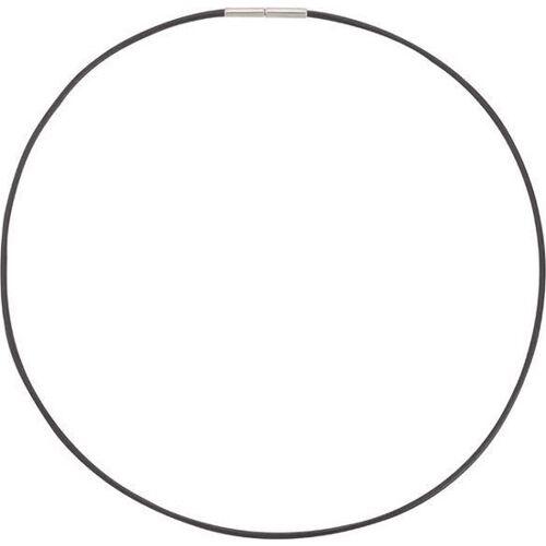 Boccia Titanium 0805-02 Collier - Titanium - Zwart