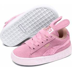 PUMA Suede Easter Ac Inf Sneakers Kinderen - Pale Pink / Coral Cloud / Puma Team Gold - Maat 27