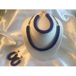 Unknown Ketting, armband en oorhangers met Swarovski kristal