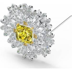 Swarovski 5518147 Ketting - Wit, Geel - Swarovski Crystal