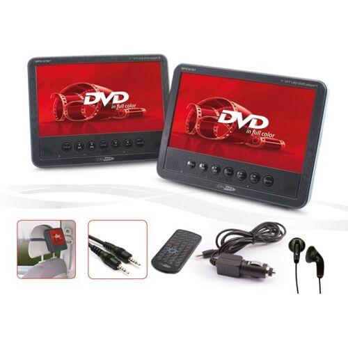 Caliber MPD278T - Portable DVD speler - 2x 7 Inch - 2x DVD speler - Zwart