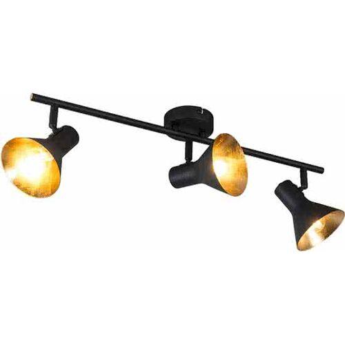 Trio leuchten Trio Lighting CL Magno 3 - Plafond spot - 3 lichts - H 190 mm - zwart