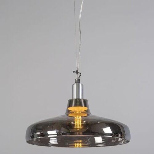 Trio Leuchten Fedo - Hanglamp - 1 lichts - 390 mm - zwart