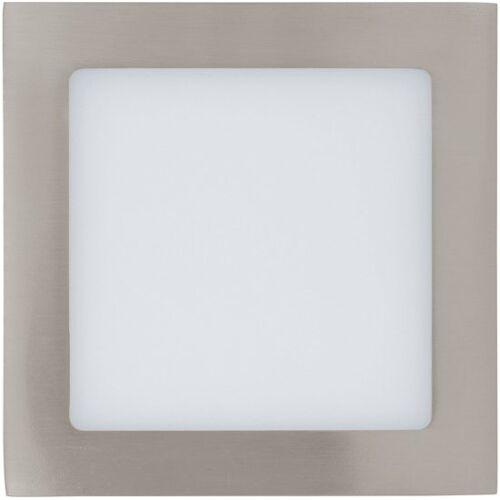 EGLO Fueva 1 - Inbouwarmatuur - 1 Lichts - Nikkel-Mat - Wit
