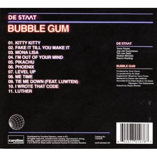 Unknown De Staat - Bubble Gum - Cd