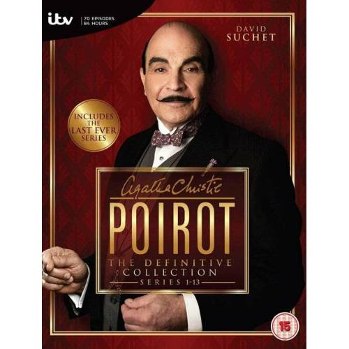 dvd Serie Poirot The definitive collection 1-13 (DVD)
