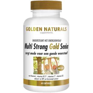 Golden Naturals Multi strong gold senior