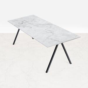 Aime Té Marmeren Bureau - Carrara Wit - 140 x 80 cm