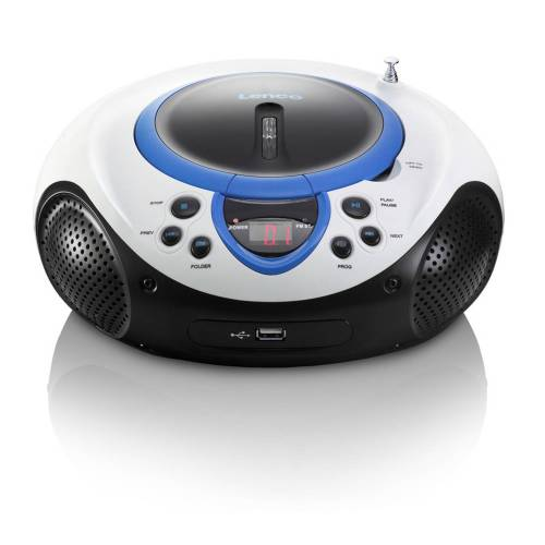 Lenco Radio/cd-speler Scd-38 - Blauw - Blauw