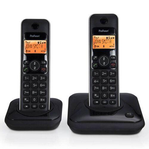 Profoon Duo Dect Telefoon Pdx-7920 - 2 Stuks - Zwart