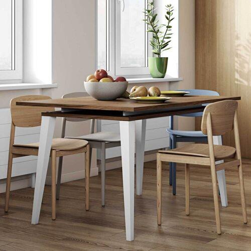 temahome Uitschuifbare tafel Kim 134/174 - walnoot
