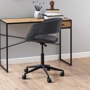 emob Bureaustoel Dusty - donkergrijs/zwart