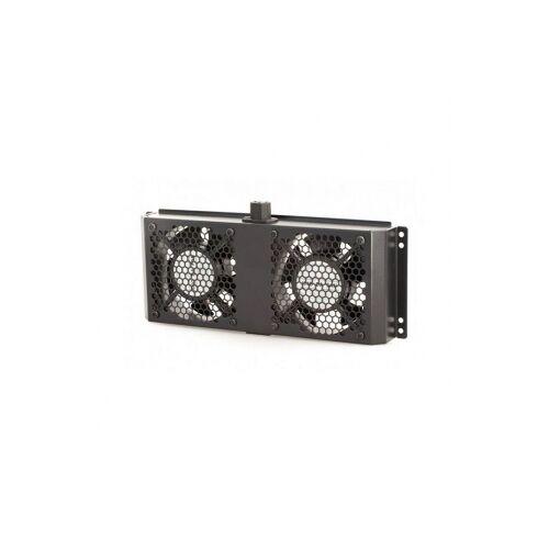 Alfaco Patchkast ventilator - Alfaco (19 inch, 1U, 2 stuks)