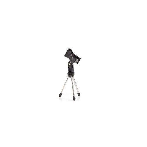Nedis Tafelstatief microfoon - Nedis (Microfoonklem, Opvouwbaar, Max. 0.8 kg)