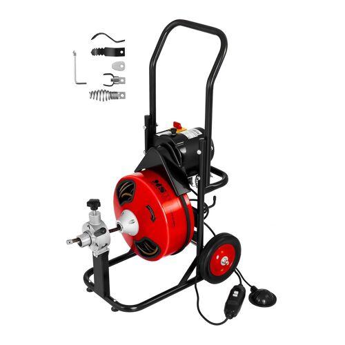 MSW Trommel pijpreinigingsmachine - 390 W - Ø 25 tot 125 mm 10060350