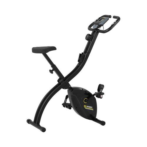 Gymrex Hometrainer - opvouwbaar - zwart 10230169