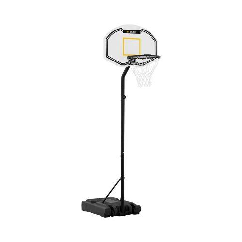Gymrex Basketbalpaal - in hoogte verstelbaar - 190 tot 260 cm 10230040