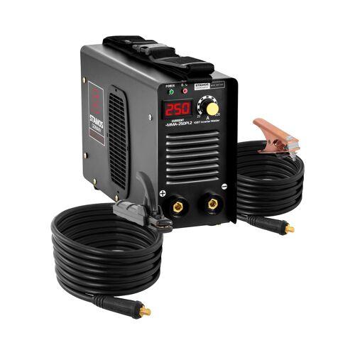 Stamos Pro Series Elektroden lasapparaat - 250 A - 8 meter kabel - Hot Start - PRO 10020228