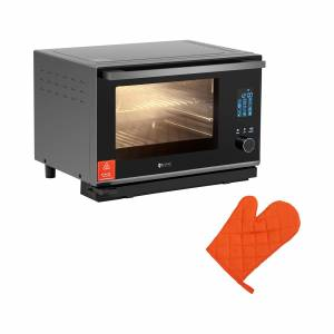 Royal Catering Stoomoven - 25 L - 2.100 W - zilver 10011825