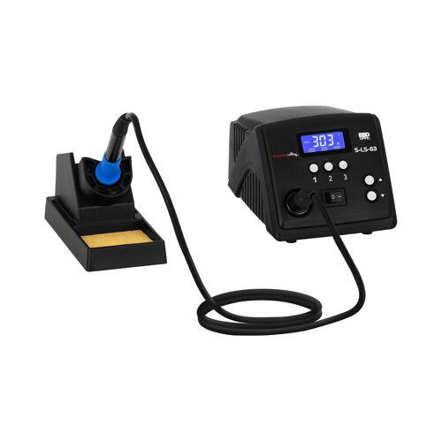 Stamos Soldering Soldeerstation - digitaal - met soldeerbout en houder - 100 W - LCD 10021154