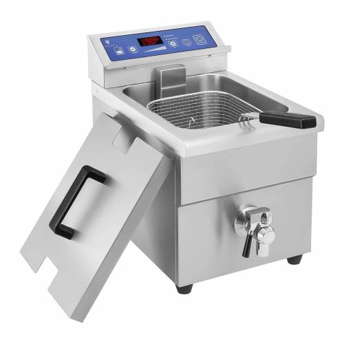 Royal Catering Inductie friteuse – 1x 10 liter – 60 tot 190°C 10010145
