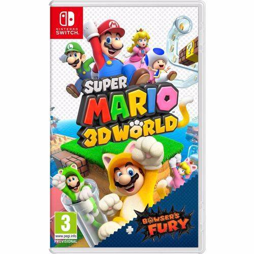 Nintendo Super Mario 3D World + Bowser's Fury (Nintendo Switch)