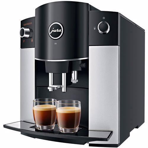 Jura espresso apparaat D6 (Platina)