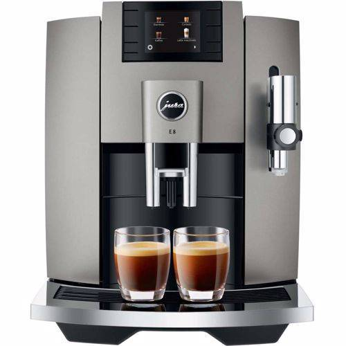 Jura espresso apparaat E8 EB (Dark Inox)